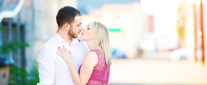 Engagement Photography with Magination Images – and urban reflector