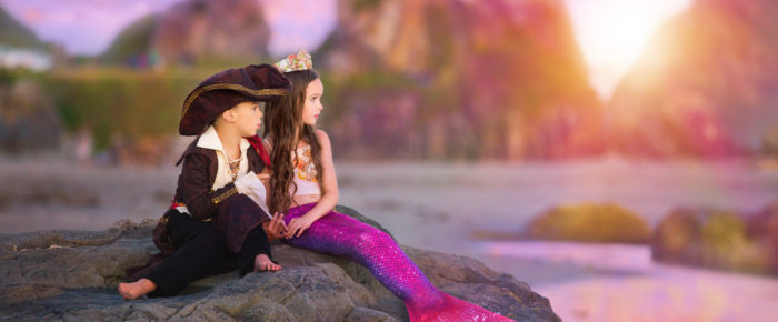 Pirates and Mermaids! A styled shoot with Magination Images